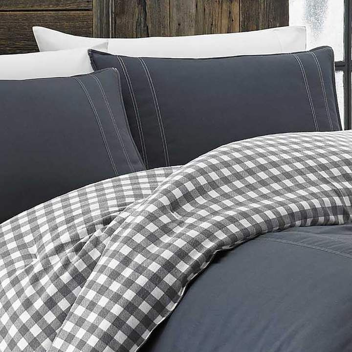 Kingston 100% Cotton 2 Piece Reversible Comforter Set | Joss & Main