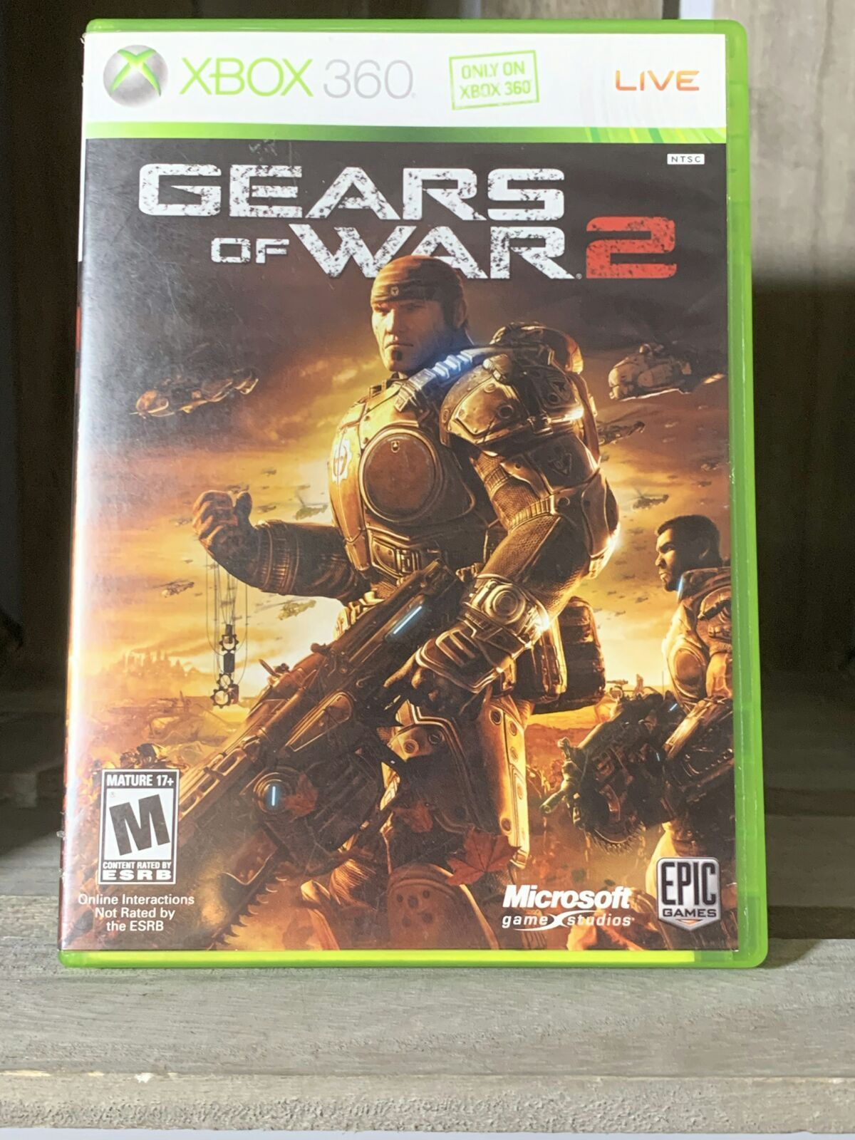 Gears Of War 2 For Xbox 360 Only On Xbox 360 Live Gears Of War 2 Gears Of War Xbox