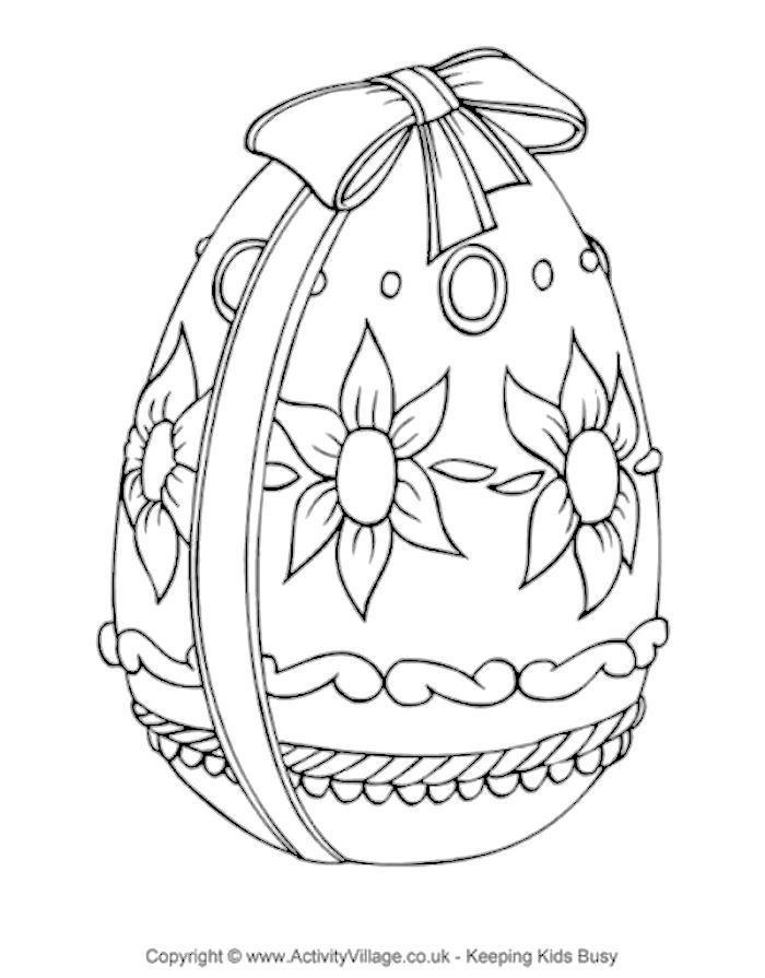 Easter Egg Coloring Page Easter Colouring Easter Coloring Pages Coloring Easter Eggs