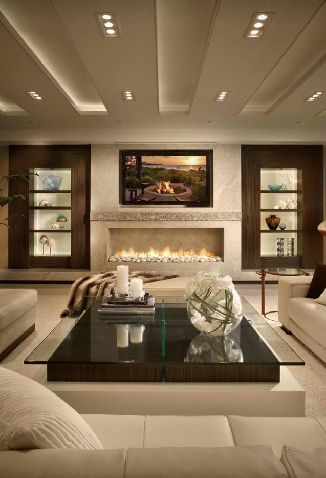 Moderne Wohnzimmer, Kamin Wohnzimmer, Wohnzimmer Designs, Schlafzimmer,  Einrichten Und Wohnen, Wohnen Und Deko, Schöner Wohnen, Rund Ums Haus, Runde