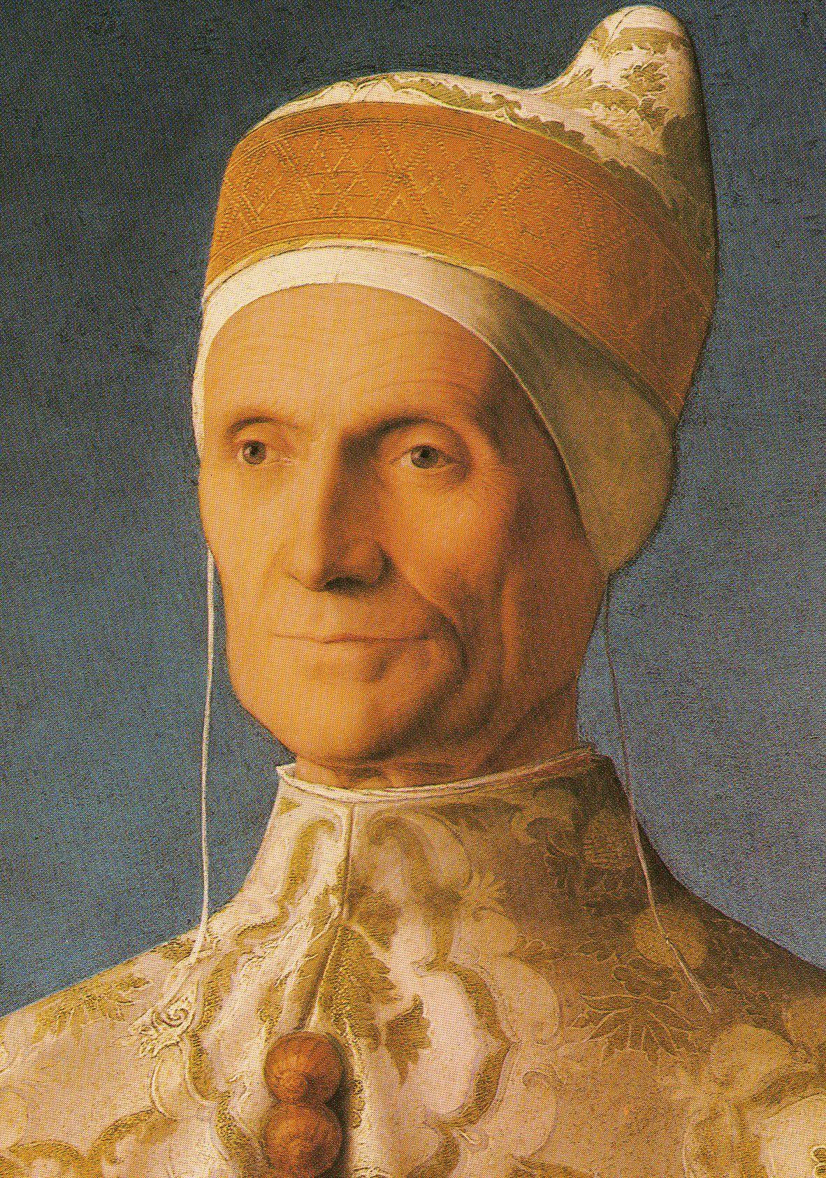 Giovanni Bellini 1427-1516. Doge Leonardo Loredan