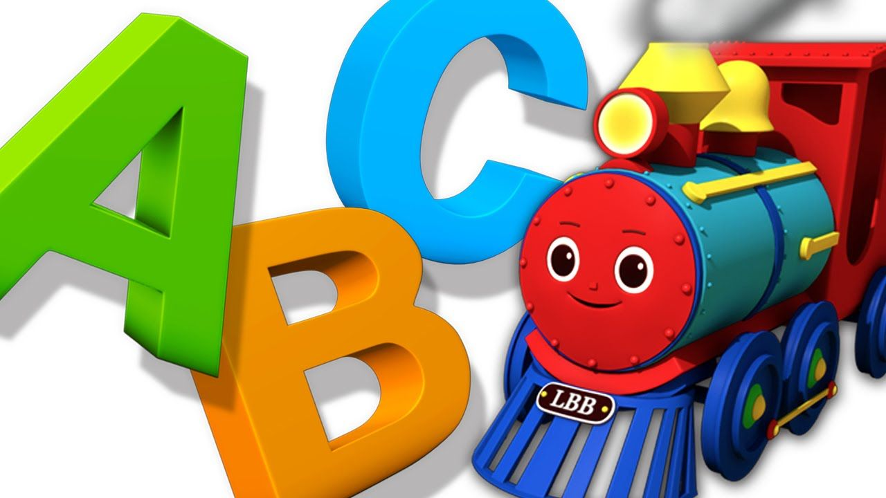 ABC Song | ABC Train Song | Nursery Rhymes | HD Version from