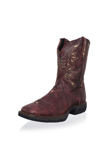400cd1b21df 40% OFF Laredo Women's Cracked 9 Cactus Rose Boot (Red) | Boots <3 ...