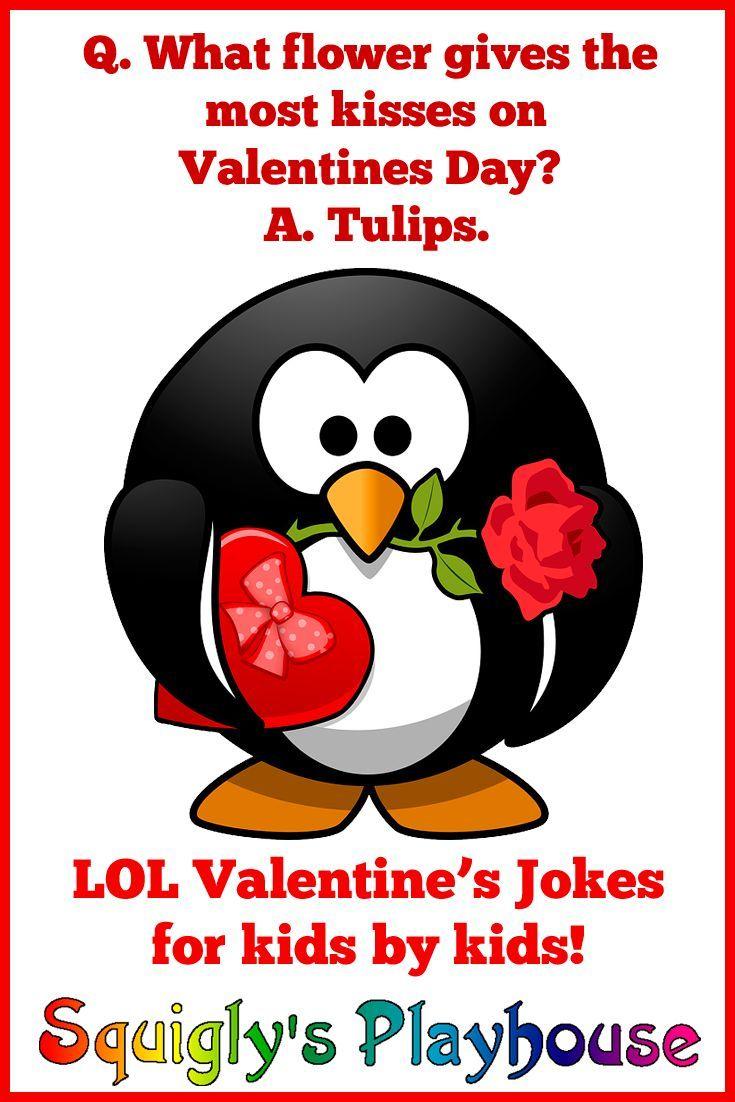 Valentine's Day Jokes for Kids at in 2020 Valentine