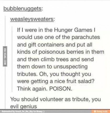 I love the hunger games!