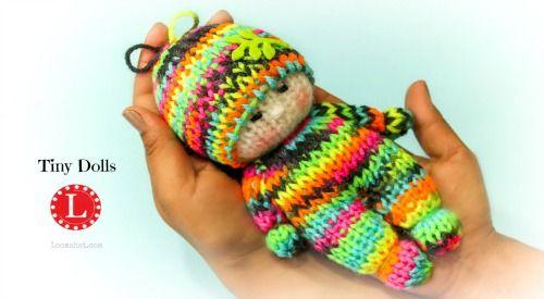 Loom Knit Waldorf Style Tiny Dolls On A Small Circular Loom Watch A