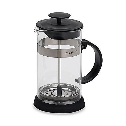Mr Coffee 4 Cup Coffee Press In Black Campingcoffeemaker