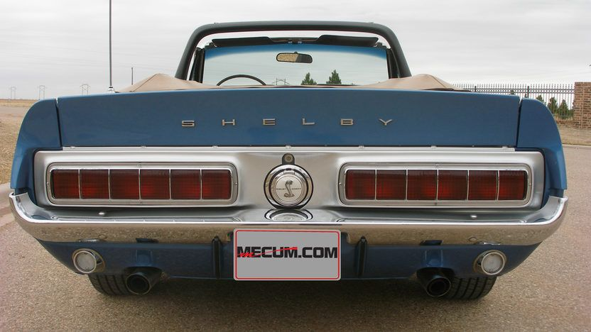 1968 Shelby Gt350 Convertible 302 Ci Automatic Shelby Ford