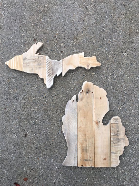 Pallet Wood Michigan by WrevinWood on Etsy