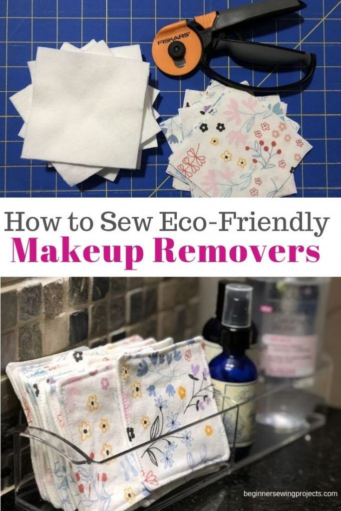 Eco-friendly Reusable Makeup Remover Pads – I'll never buy these again! They a...