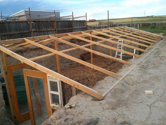 Construisez-vous une serre souterraine : un moyen original de cultiver toute l'année ! - Des idées