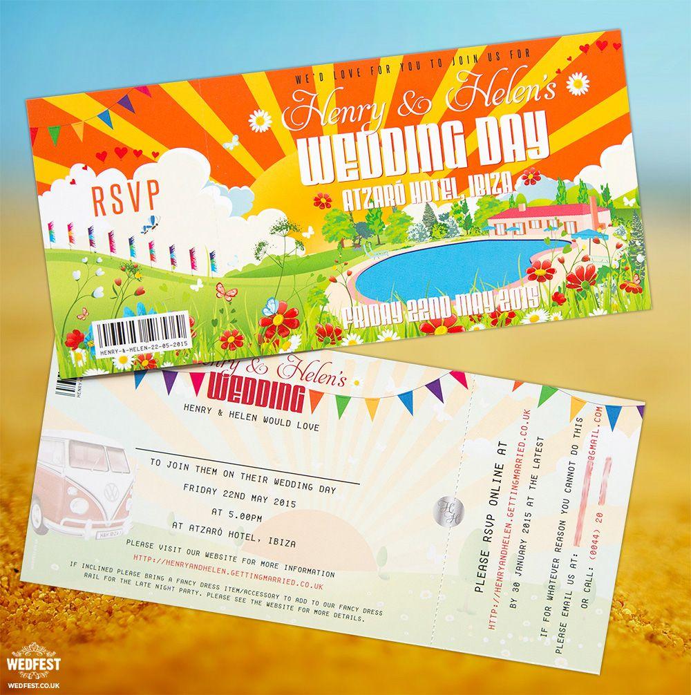 Ibiza Wedding Invitation http://www.wedfest.co/atzaro-hotel-ibiza ...