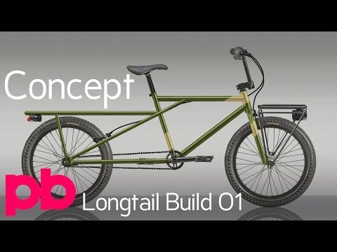 Longtail Bicycle Build 01 Designing The Cargo Frame With Bikecad