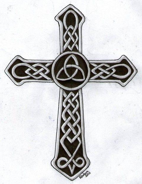 Celtic Cross Tattoo Designs 1141 Jpg Nadel Und Farbe Pinterest