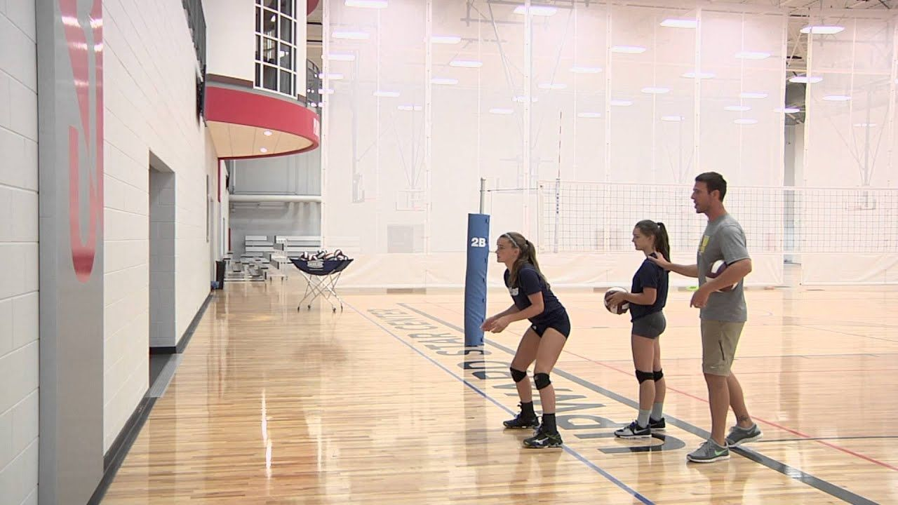 Wall Passing Volleyball Drill Youtube In 2020 Volleyball Drills Volleyball Drills For Beginners Volleyball Training