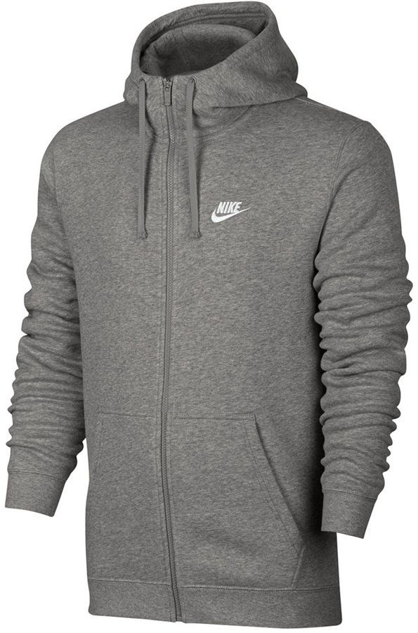 9a896f1e2a9f Nike Men s Fleece Zip Hoodie