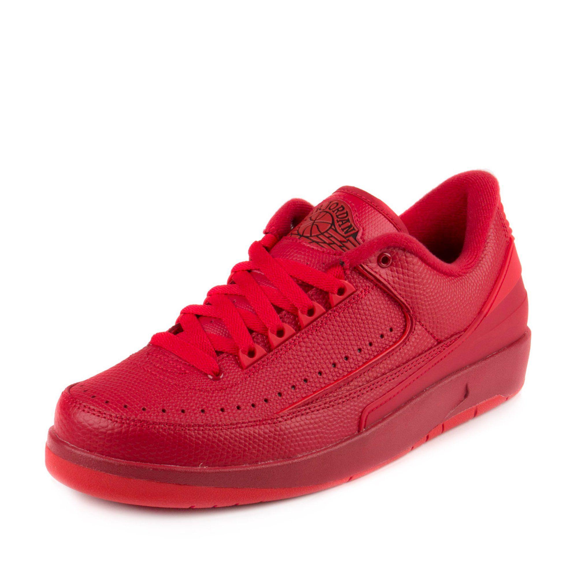 Nike Mens Air Jordan 2 Retro Low Gym Red University 832819 606