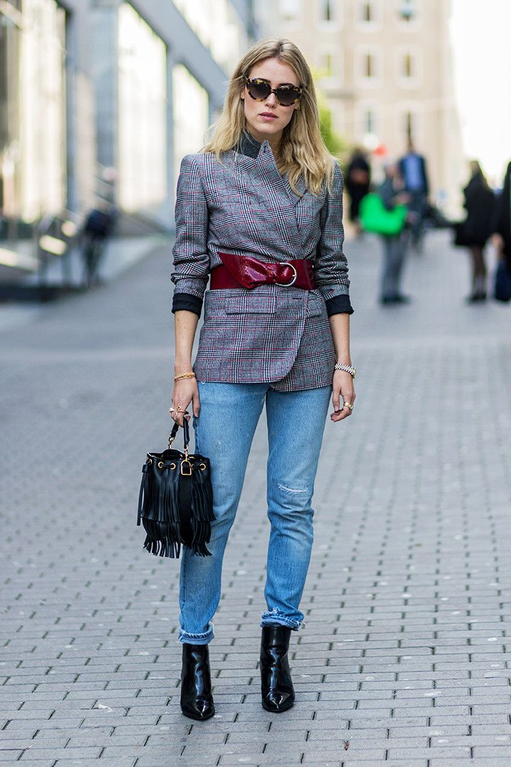 81e607ccdb7 13 Quick Tips for Dressing Up Your Jeans via  WhoWhatWearUK