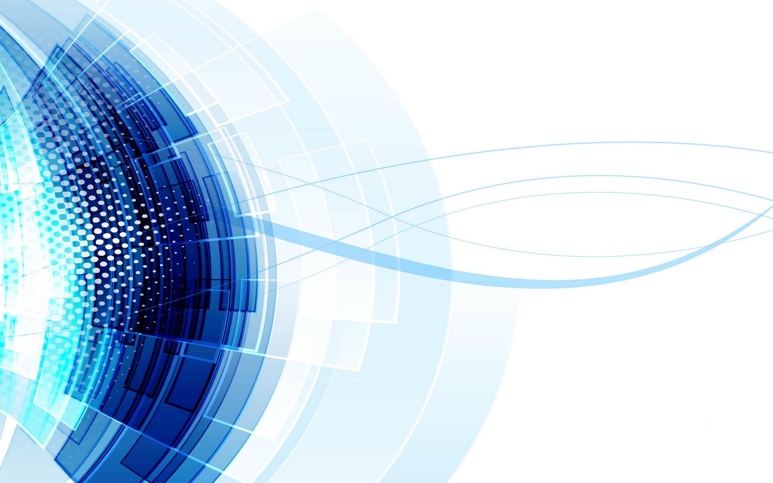 Blue Abstract Wave Vector Wallpaper Download Free Vector Art