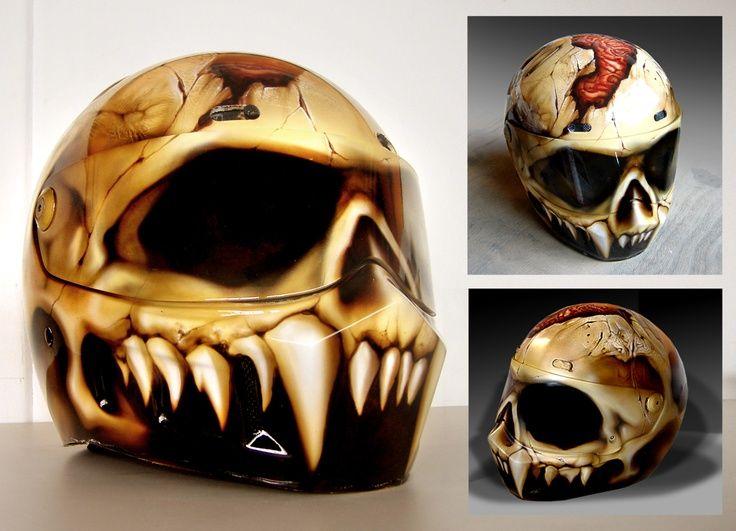 Caveira motorcycle helmet