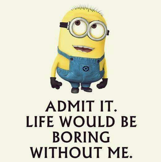 Minions Boring Life Minion Love Pinterest - 22 funny puns brought to life with cute illustrations