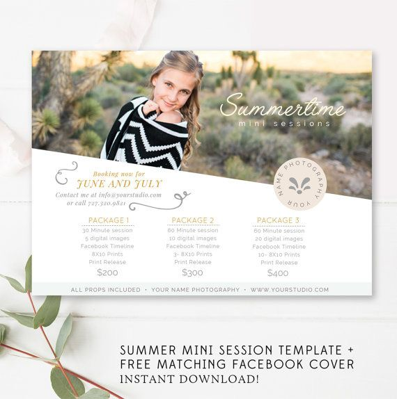 summer mini session template free matching facebook timeline summer photo session template photo photography