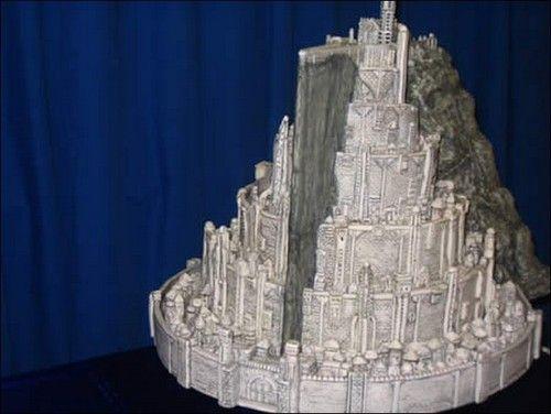 Minas Tirith Cake - @Linsey McCoun I totally thought of you!