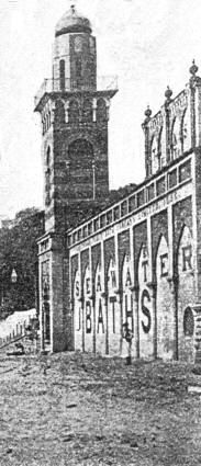 Bland's Cliff Baths, Scarborough, c.1875