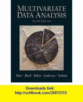 Ebook Multivariate Data Analysis