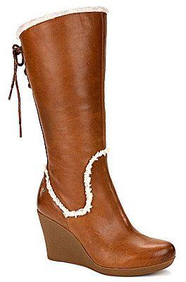 1a75aec6d51 UGG Australia Women ́s Emilie Wedge Boots on shopstyle.com | Stuff ...