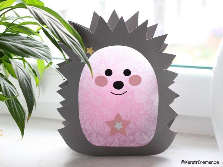 Photo of Ebook / crafting instructions hedgehog star lantern