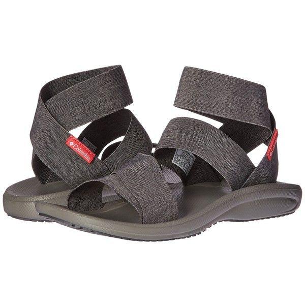 Columbia Barraca Strap (Dark Grey/Wild Salmon) Women's Sandals ($70) ❤