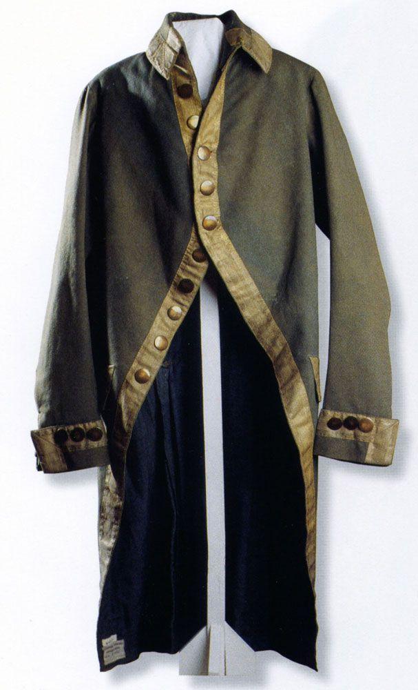 Кафтан офицера полка, принадлежавший императрице Екатерине II. ГМЗ «Царское Село»
