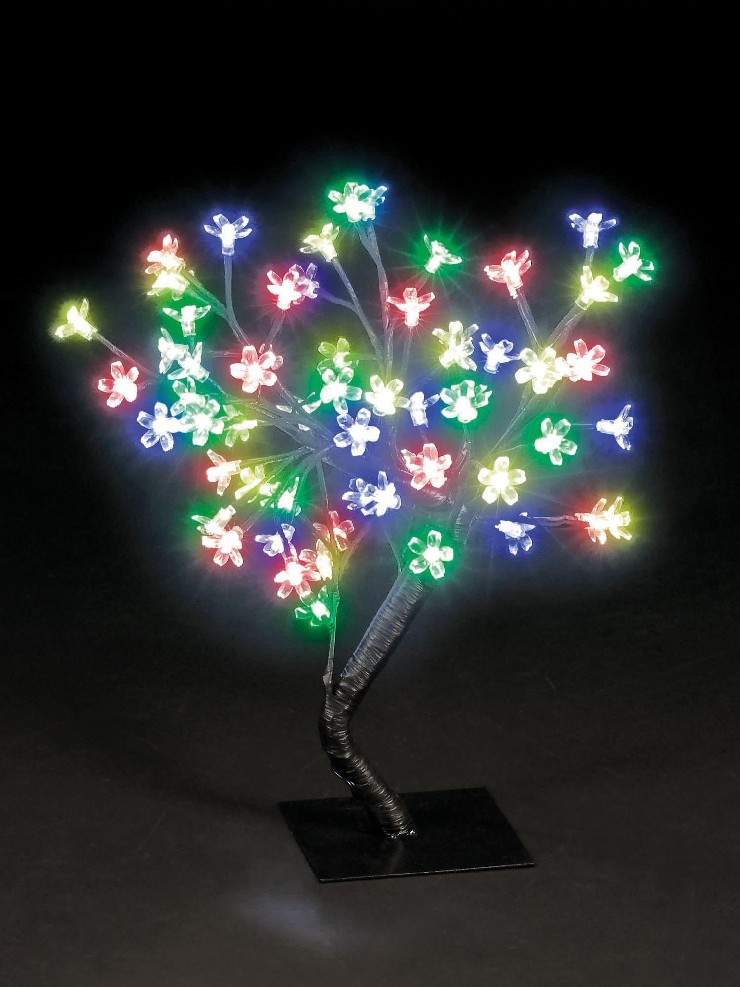 Snowtime 48 LED Light Blossom Tree