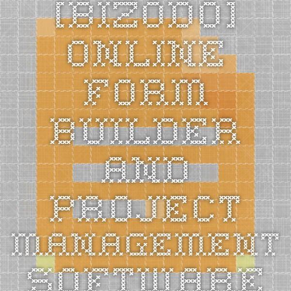bizodo Online Form Builder and Project Management Software - resume builder online free printable
