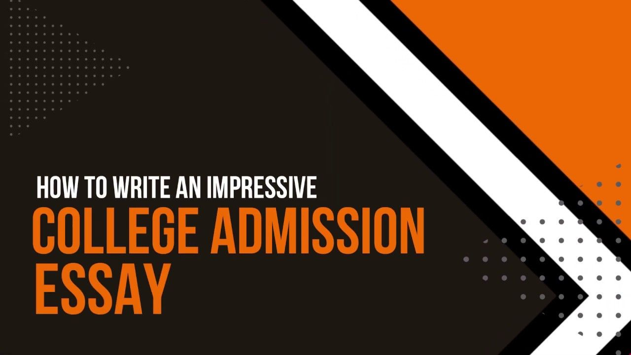 Admission college essay help college