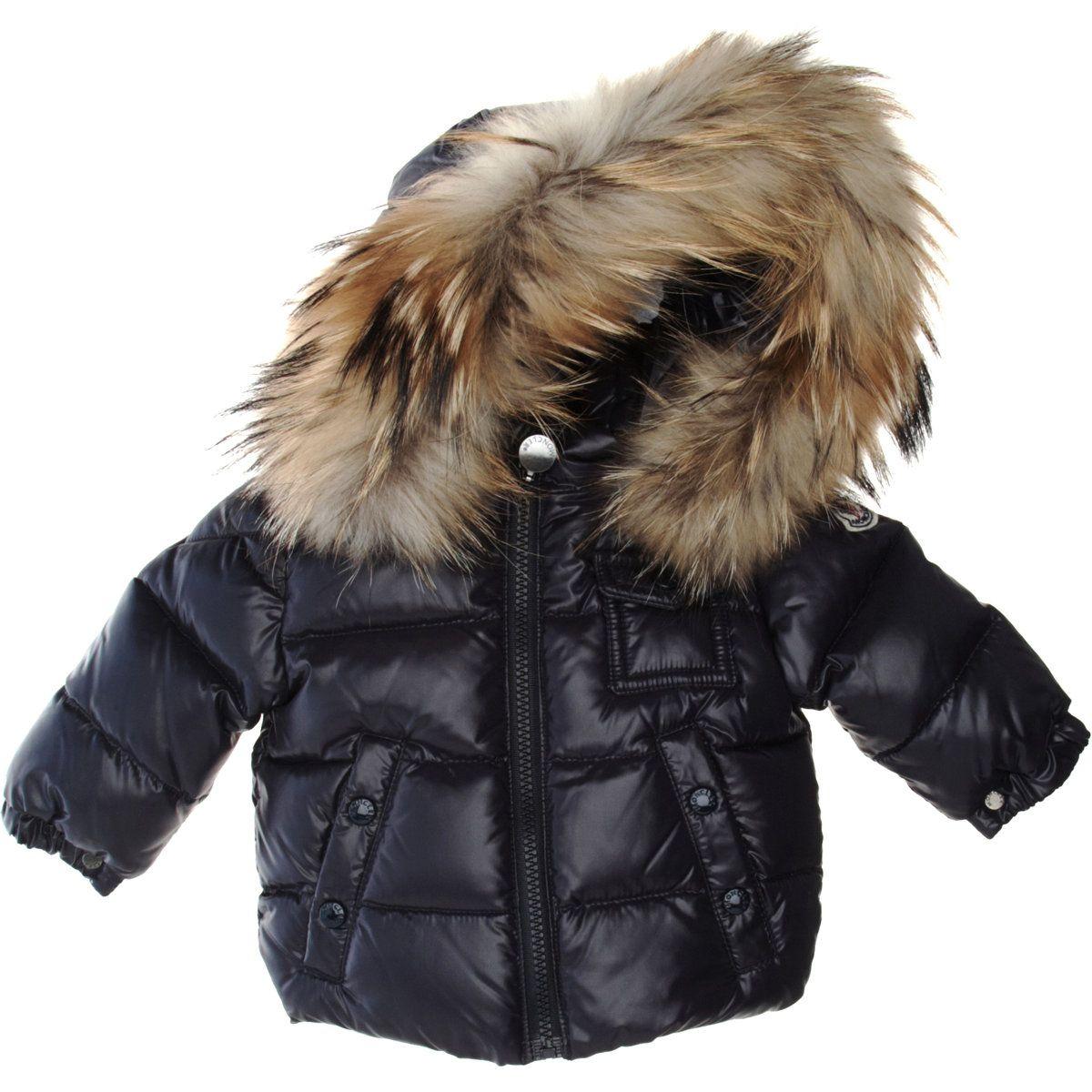 Moncler Fur Hood Puffer Jacket Puffer jackets, Big kids