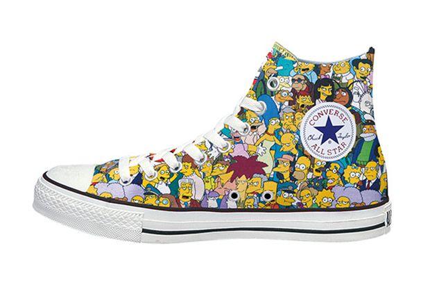 converse chuck hi all star the simpsons