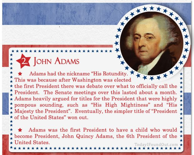 the history and career of john adams The role of john adams in the history of the united states of america.