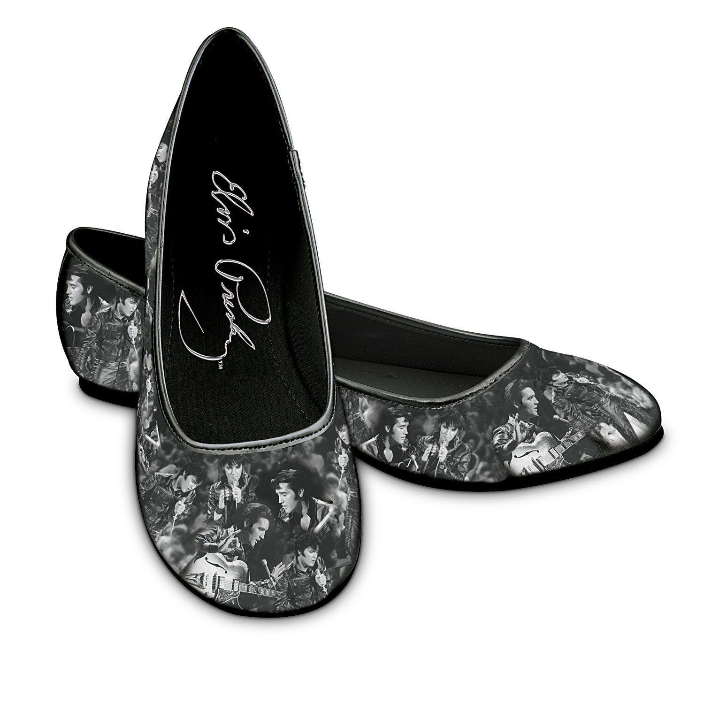 b5cb6540c8a0c Elvis Toe-Tappin' Ballet Flats