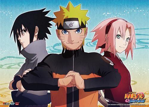 Photo of Naruto Shippuden – Naruto, Sasuke & Sakura Key Art Wall Scroll [PreOrders SoldOUT]