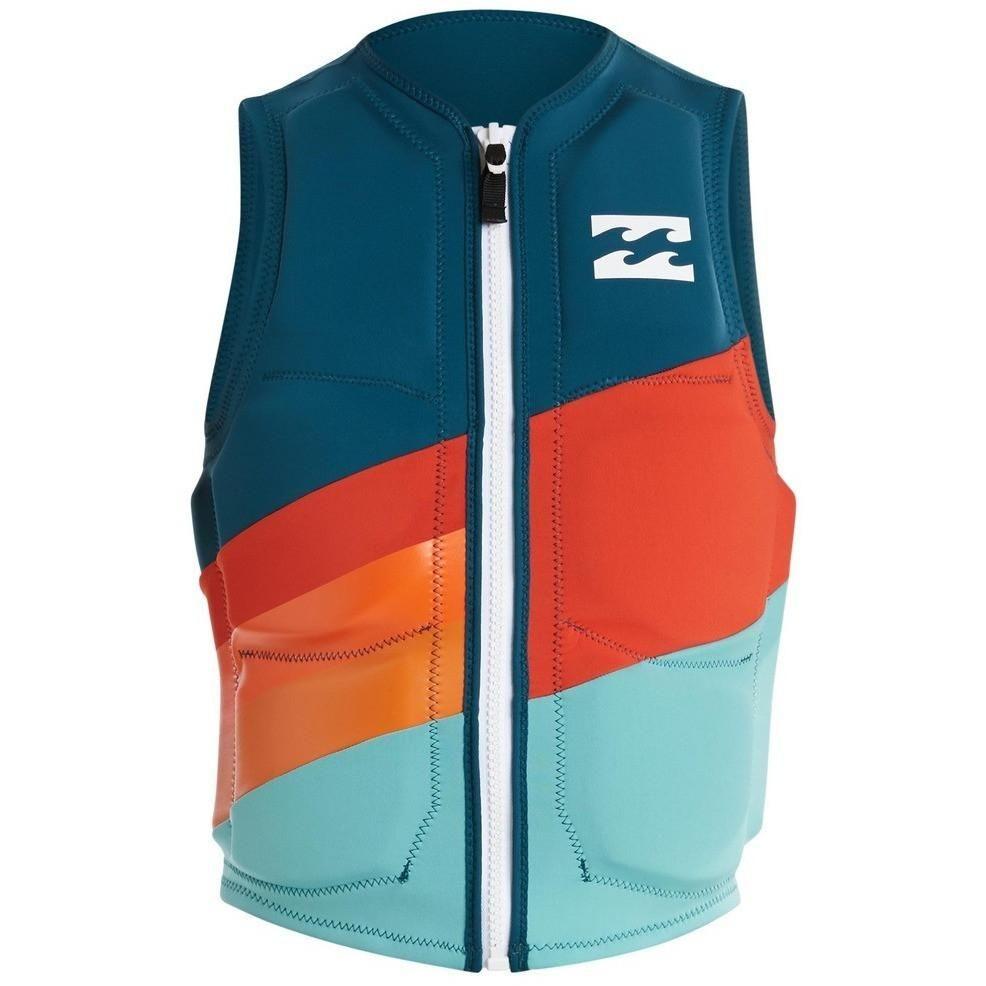 Billabong Slice Lo Tide Wakeboard Life Vest Haze Surf Outfit Wakeboarding Swimwear Brands
