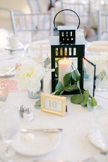 Elegant Ivory Blush Minnesota Wedding Centerpieces Pinterest