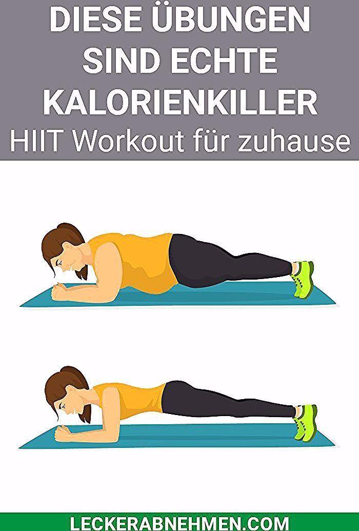 Hier zeigen wir dir einen HIIT Trainingsplan und stellen dir 10 HIIT Übungen vor, die du zu Hause ma...