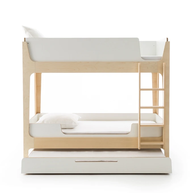 Irazu Bunk Bed With Base Contemporary Bunk Beds Wooden Bunk Beds Modern Bunk Beds