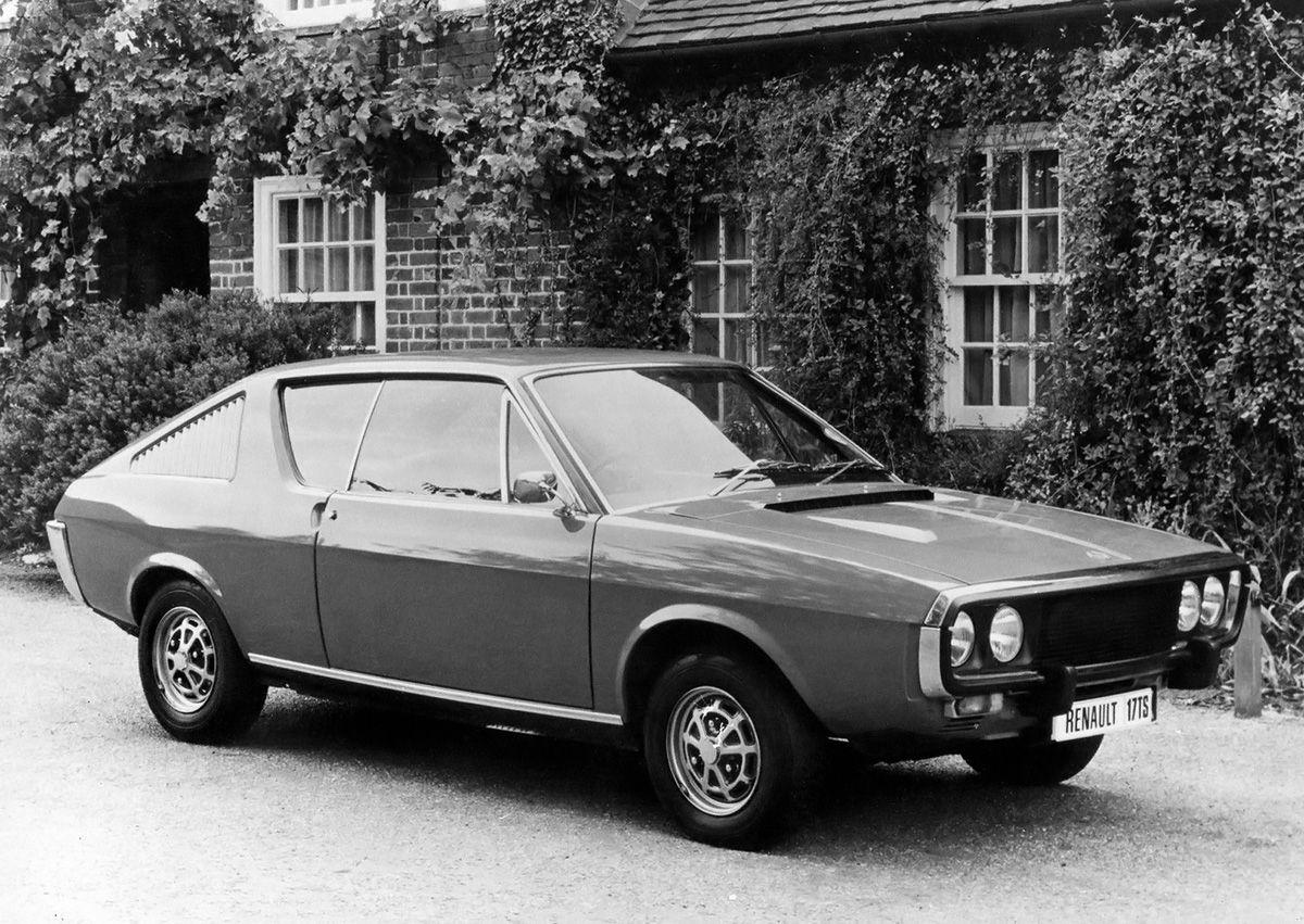Renault 17 TS (UK) - 1971 | Classic Renault | Pinterest | Cars