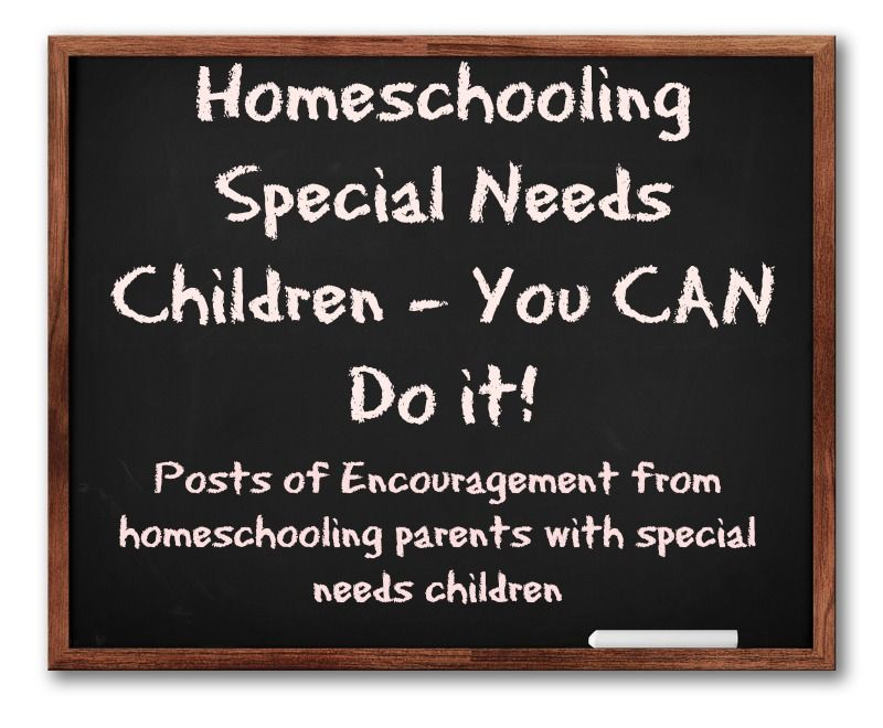 Homeschooling Special Needs Children - It IS possible! Our Story of Encouragement #Homeschooling #SpecialNeeds http://peaofsweetness.com/homeschooling-special-needs-encouragement/