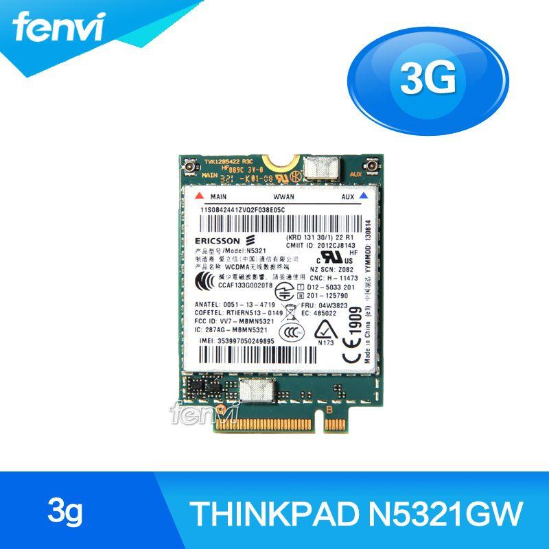 Unlocked Ericsson N5321GW Wireless 3G WWAN Modules card for Thinkpad