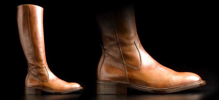 Stivali fatti a mano Made in Italy da calzoleria Giacopelli a Parma