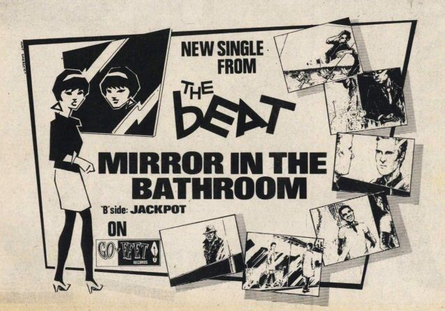 Mirror In The Bathroom The English Beat Music Poster Best Song Ever